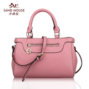 SAND MOUSE/sand rat 2015 new style ladies shoulder handbag suede cowhide leather middle-aged women bags
