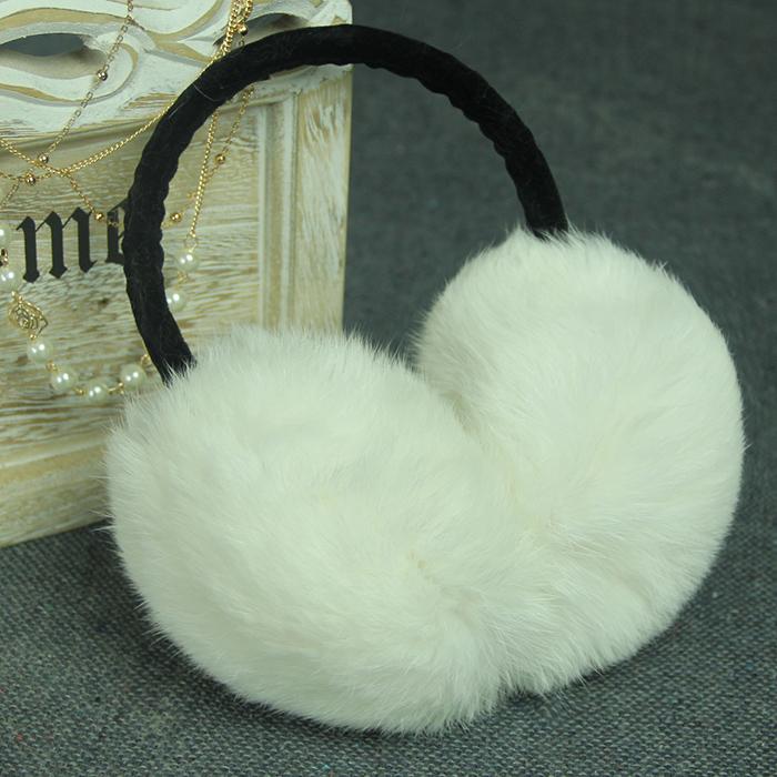 Женщины и мужчины супер реального кролика халявы уха халявы уха зимой, чтобы держать теплый кролика мех ухо уход уха с подогревом уха крышка