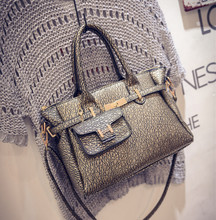 Female bag 2015 autumn/winter bag handbag tide platinum bag ladies handbags fashion lash package single shoulder bag