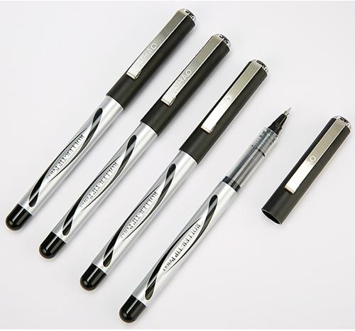 爱好2000A直液式走珠笔子弹头中性笔学生考试水笔商务签字笔