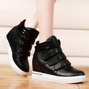 Shield Fox fall 2015 high designer shoes of England increased in thick-soled shoes athletic and leisure shoes flat shoes