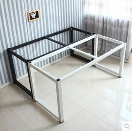 包邮简易烤漆金属桌架桌腿桌脚办公桌架电脑桌架会议桌架 可定制