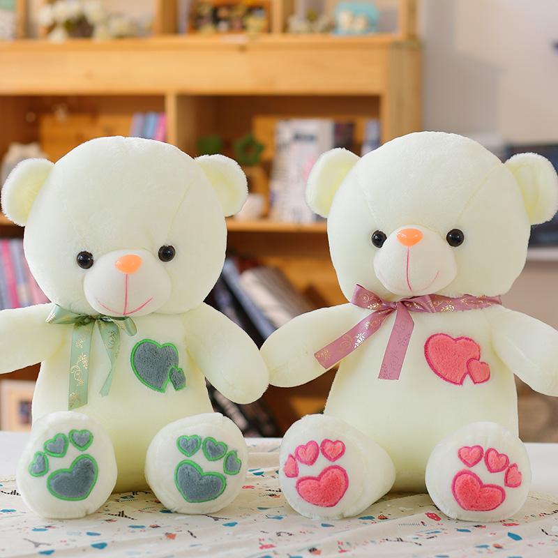 可爱情侣泰迪熊公仔毛绒玩具布娃娃一对抱抱熊结婚生日礼物女生