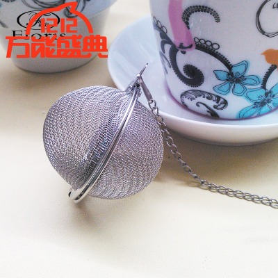 Fashion boutique tea accessories Mesh tea bag on sale Japan creative tea tao personality FL70005 stainless steel