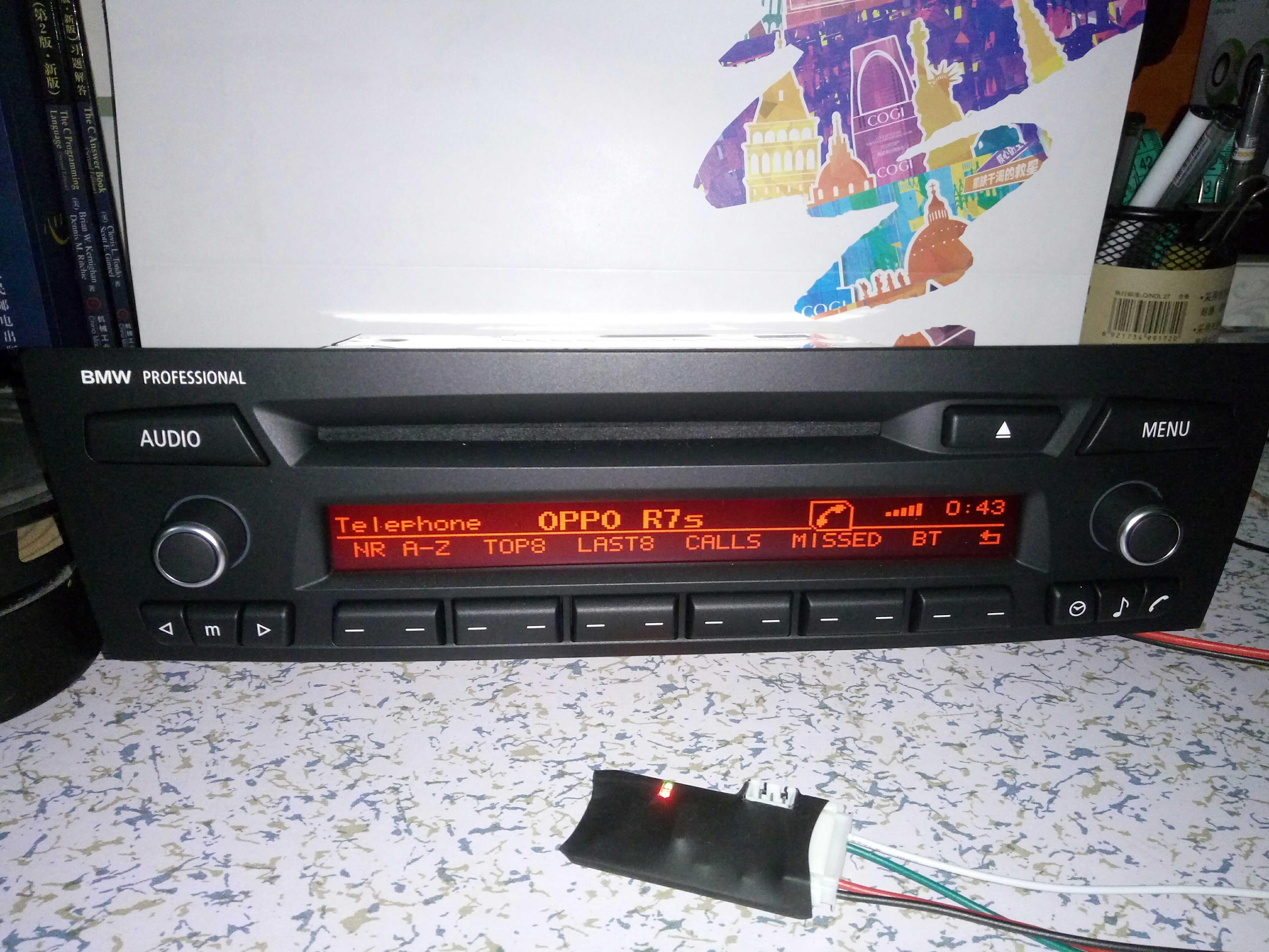 Bmw старый X1 оригинальный автомобиль CD декодирование устройство