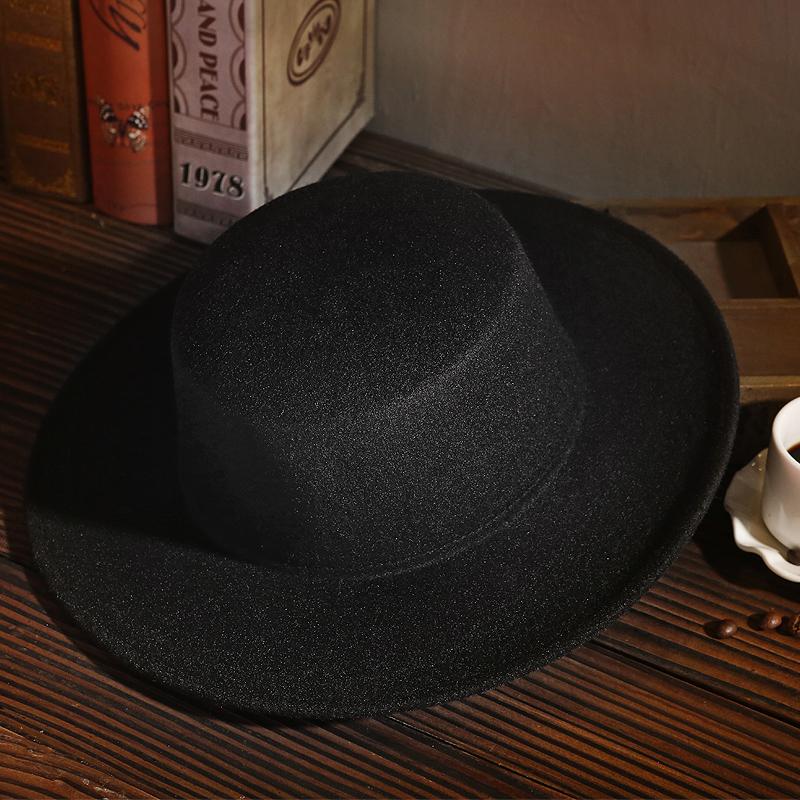 英倫毛呢爵士帽
