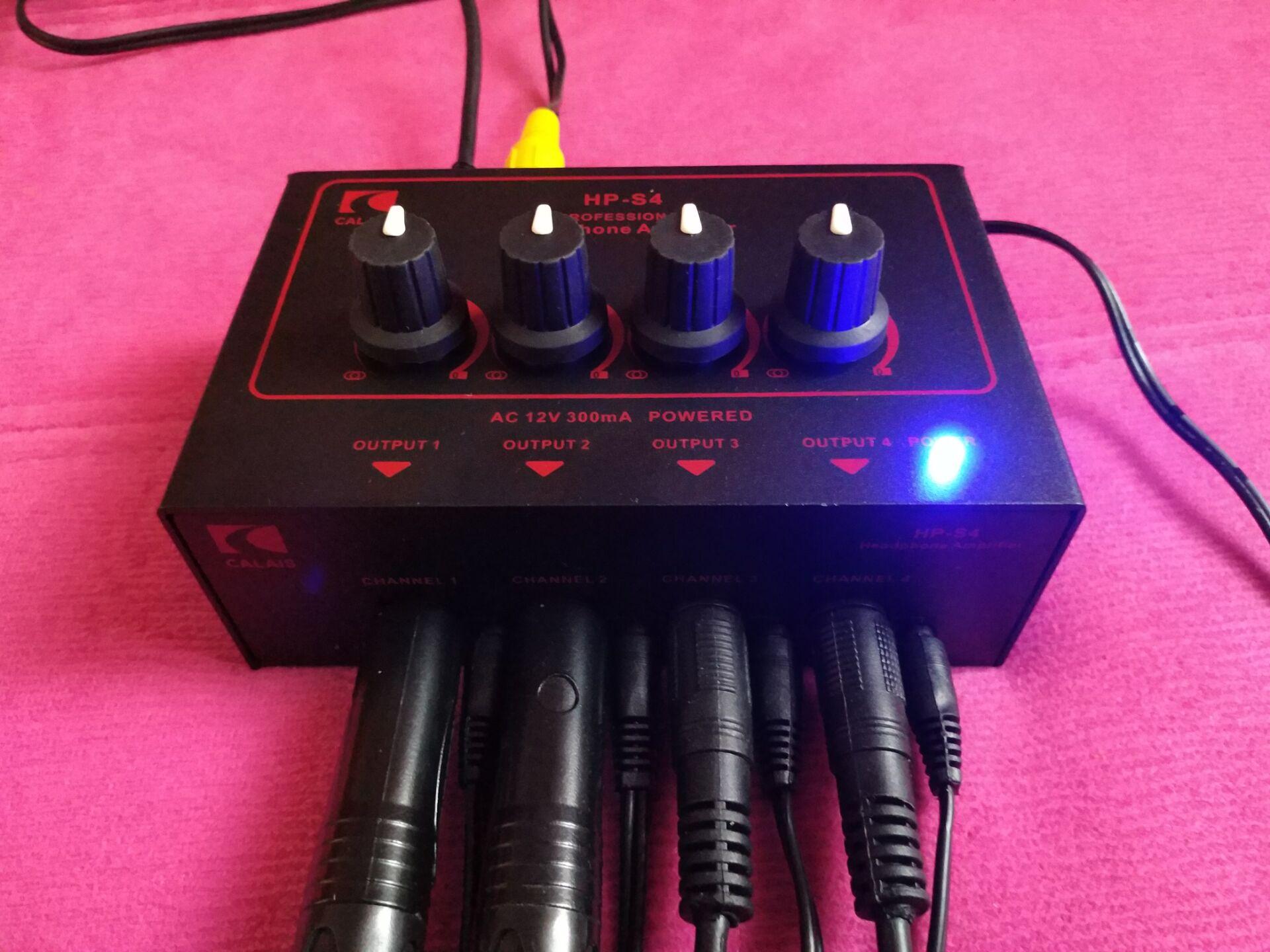 CALAIS HP-S4 HPS4 4 дорога наушники распределение устройство 8 дорога наушники увеличить устройство запись пролить ухо релиз ухо филиал