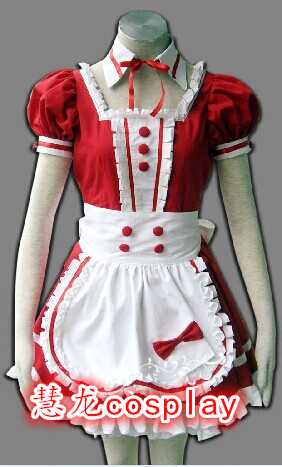 Huilong Cosplay anime Maid Dress classic color coffee shop special clothing package