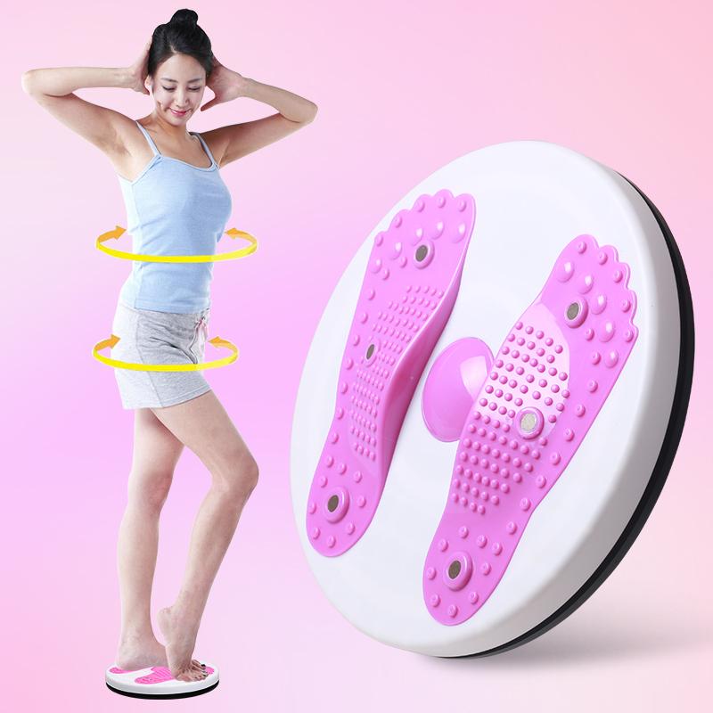 扭腰盤家用 瘦腰器女士大號磁石減收腹盤扭扭樂 家用健身器材