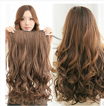 Wig piece Female long curl hair thickening non-trace a chip hair pills large waves package mail