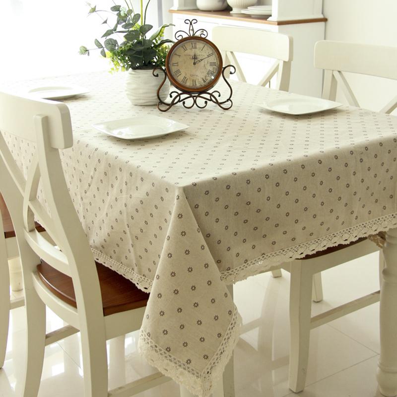 Гранд Дейзи хлопка столовое белье ткань скатерти сад скатерти скатерти стол, журнальный столик журнальный столик ткань скатерти