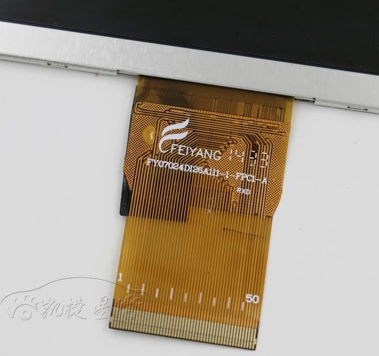 Новый автомобиль для V17HD CW0858 LCD экран FY07024DI26A111-1-FPC1-A