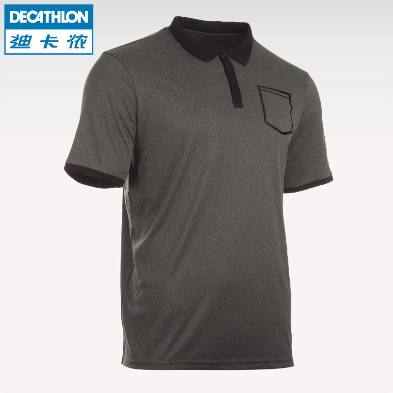 迪卡儂 polo衫男士 翻領寬鬆修身 短袖T恤 ARTENGO