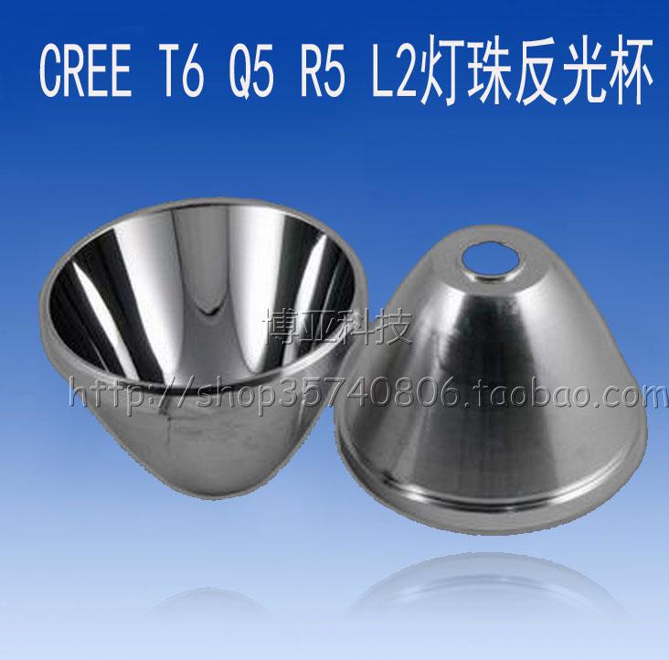 CREE Q5 R5 T6 L2 U2 витые бусины отражающий чашка чаша C8 C11 яркий свет фонарик LED конденсатор прожектор