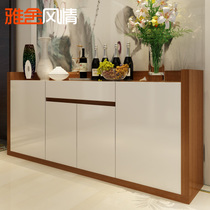 Ya  an style dining cabinets modern simple restaurant cabinets storage cabinets dining Cabinets fashion paint wine cabinet Tea water cabinet