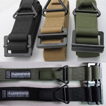 Ling Eagle Army Fan supplies tactical Belt men outdoor multifunctional tactics drop rescue canvas airborne belt