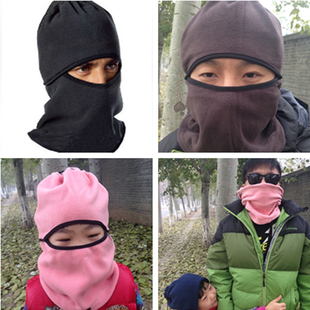 Outdoor thickening catch balaclavas windproof hat headgear mask CS caps hat scarf multifunctional Variety scarf