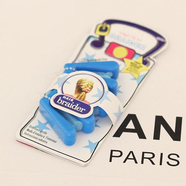 Пакет почты Европы и французской моды DIY прически плетеный стиль волос волосы стили девушки волосы плетеные ее волосы