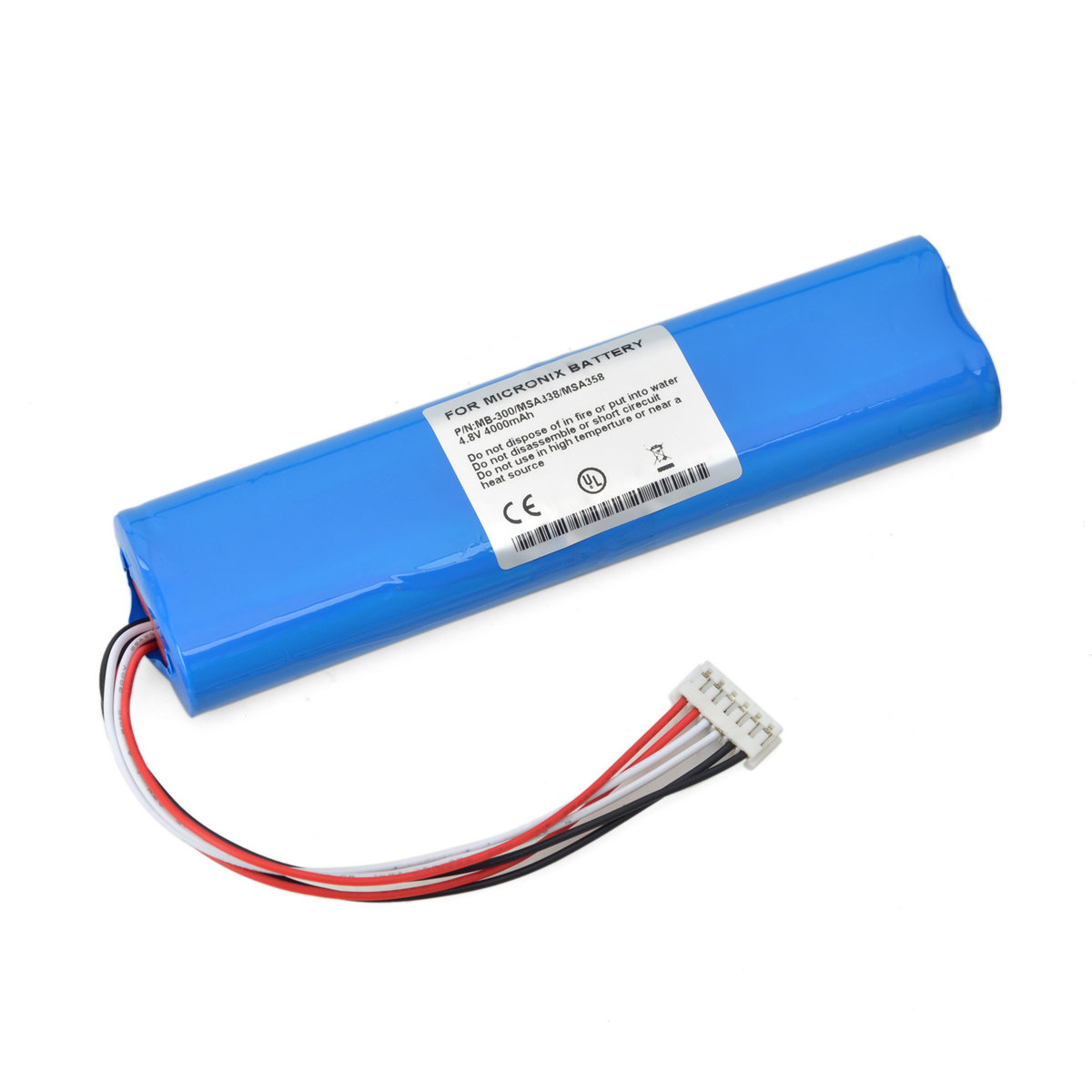 适用迈克尼斯 MICRONIX MSA338,MSA358,MB300,MB-300 频谱仪电池