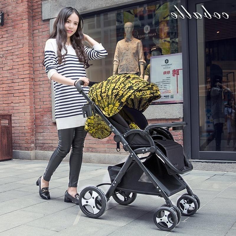 Прохладно baylor ребенок тележки портативный шок высокий пейзаж сложить от себя ребенок BB автомобиль может сиденье лечь легкий ребенок автомобиль