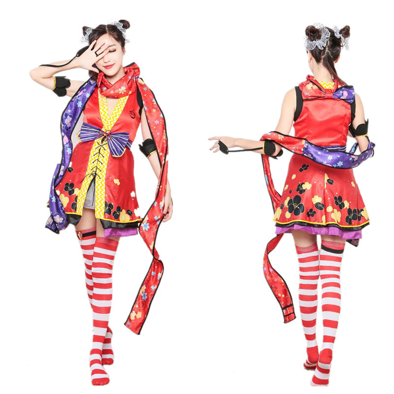 New animation cosplay costume South bird role play costume game uniform night club DS stage performance Costume