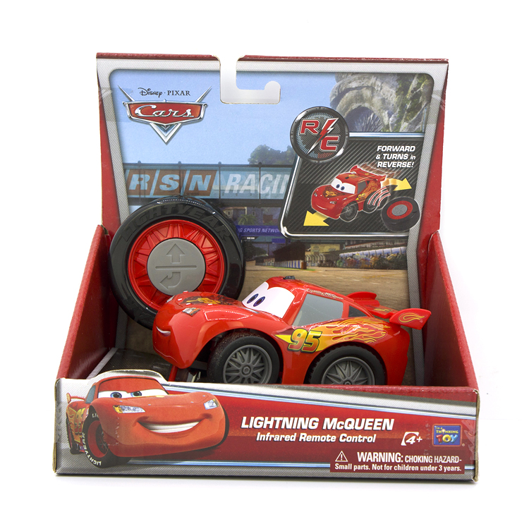 Disney auto story lighting McQueen 95 tire remote control car toy