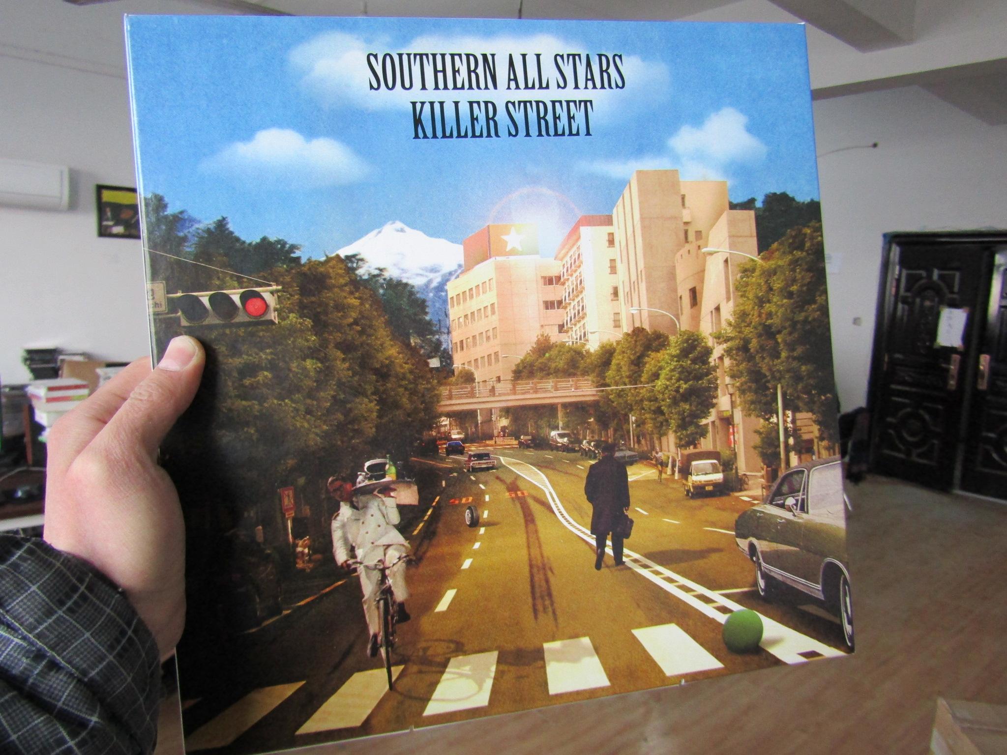 Южная день группа звезда лицензированный не открывается 3LP винил SOUTHERN ALL STARS KILLER STREET