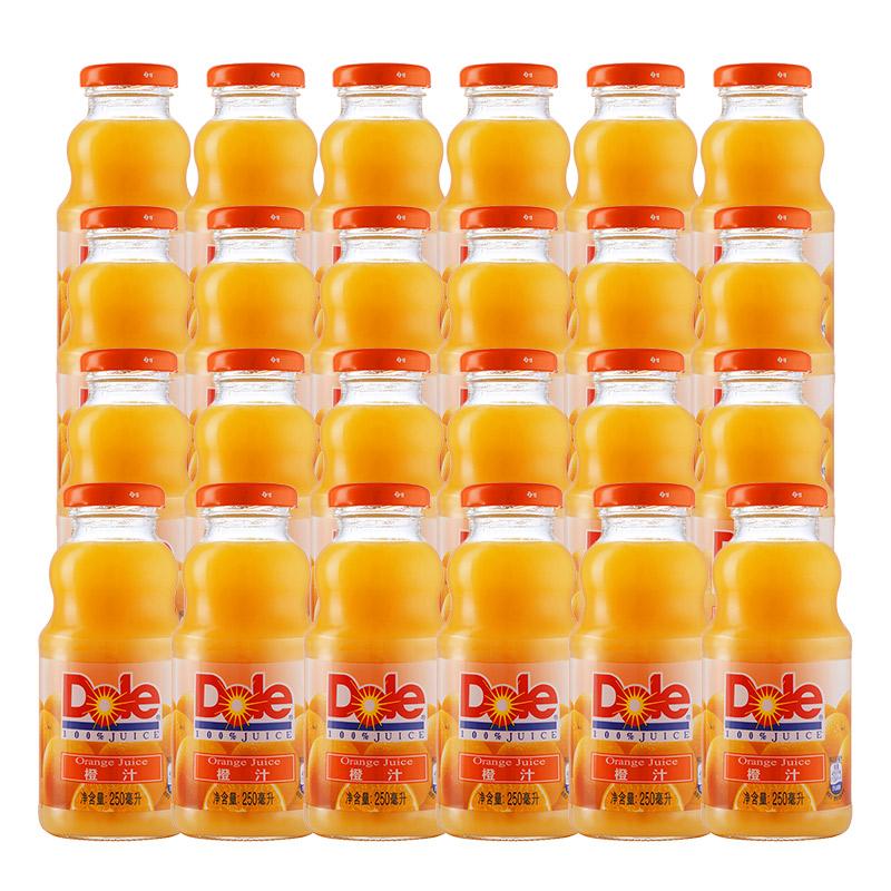 ~天貓超市~都樂 100^%橙汁玻璃瓶整箱250ml^~24 百事 果汁飲料