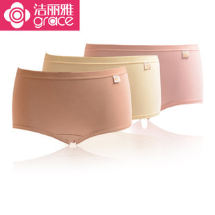 8 Jie Ya genuine bamboo fiber panties 25064 square feet hip silky breathable high waist summer