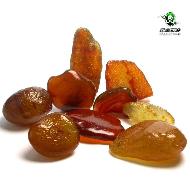 Lssp / green stone natural agate raw stone agate seed material natural ornamental stone hand play piece small ornament SS