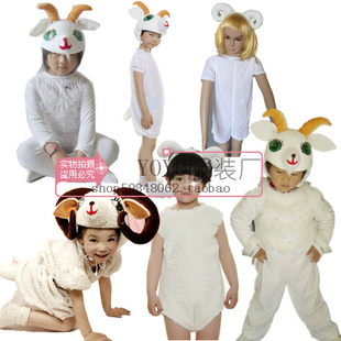 Christmas goat lamb sheep show dance clothes children clothing children s clothing animal shows