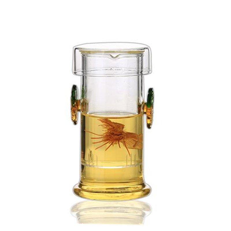 Специальное предложение черный чай зеленый чай генерал Er чай пузырь сопротивление горячей усилие высокотемпературные да уха чашка стакан фильтрация пузырь чай устройство чайный сервиз