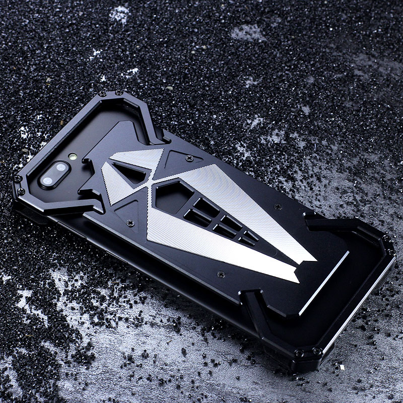 S.CENG Spider-Man Shockproof Aerospace Aluminum Metal Shell Case Cover for OPPO R11