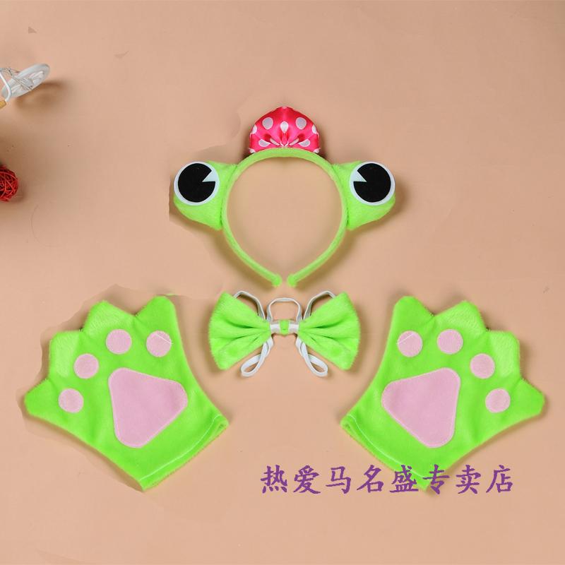 Шесть детские Подсказки 3 накладки перчатки Завязывающая галстук-шоу