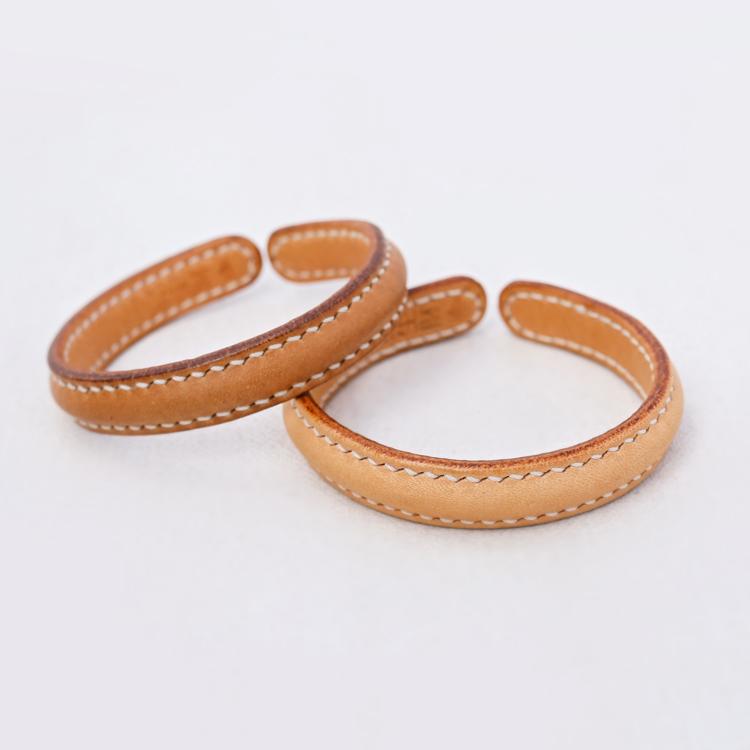 Onemountain vegetable tanned leather bracelet classic retro mens and womens Handmade Bracelet