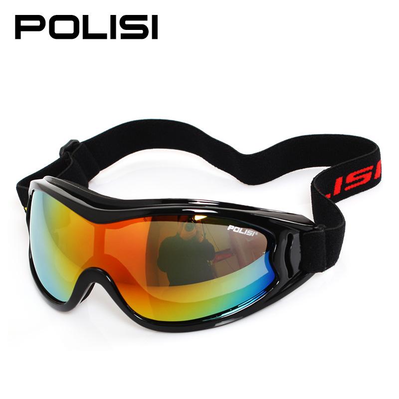 Профессиональные лыжи POLISI зеркало Противотуманный сферический вид мужские и женские стиль Лыжный глаз зеркало для взрослых детские общий