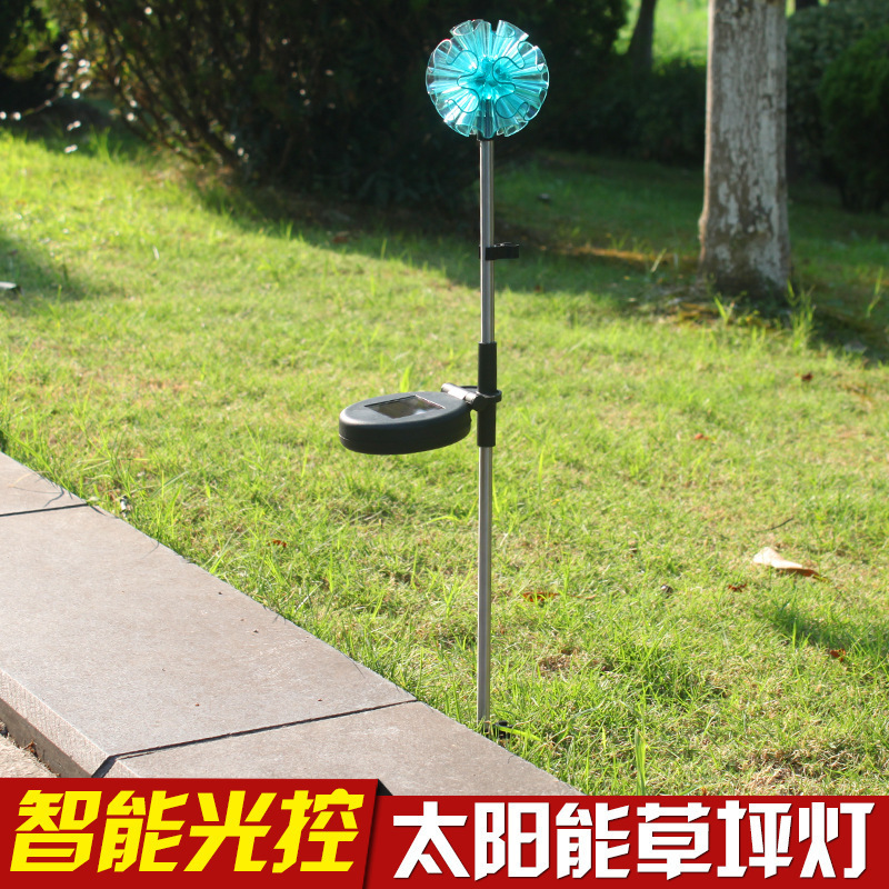 Solar lawn lamp, outdoor LED sun lanter太阳能氛围太阳花灯