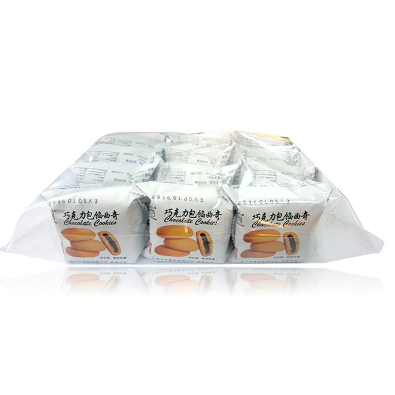 上海三牛巧克力包餡曲奇 360gX2包 零食糕點早餐 包郵