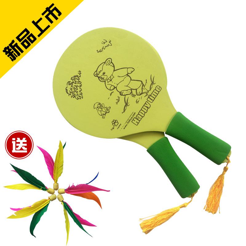 Новый доска перо мяч утолщённый плита перо ракетка сан - мао сумка для гольфа почта сан - мао ракетка движение волан ракетка охрана окружающей среды выход