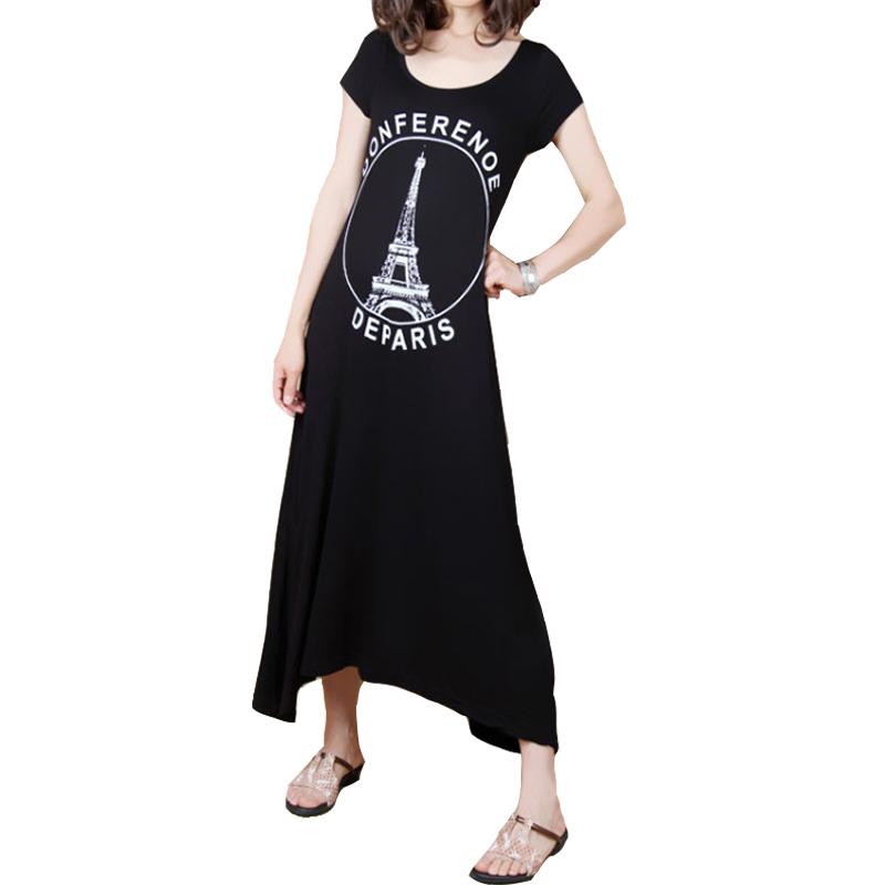 Платья летние платья для беременных женщин и женщин в летних модальных беременных женщин беременных женщин в Европе и Америке в летнее платье