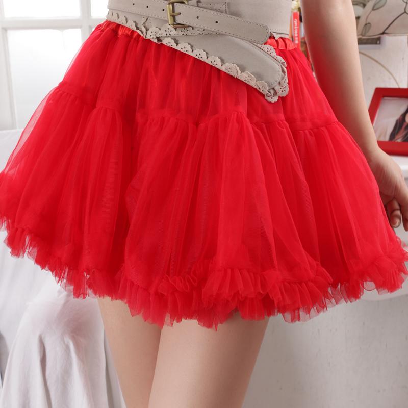 Luoyiji made to order the same Princess lotus leaf skirt, swan skirt, half length skirt, gauze skirt and short skirt