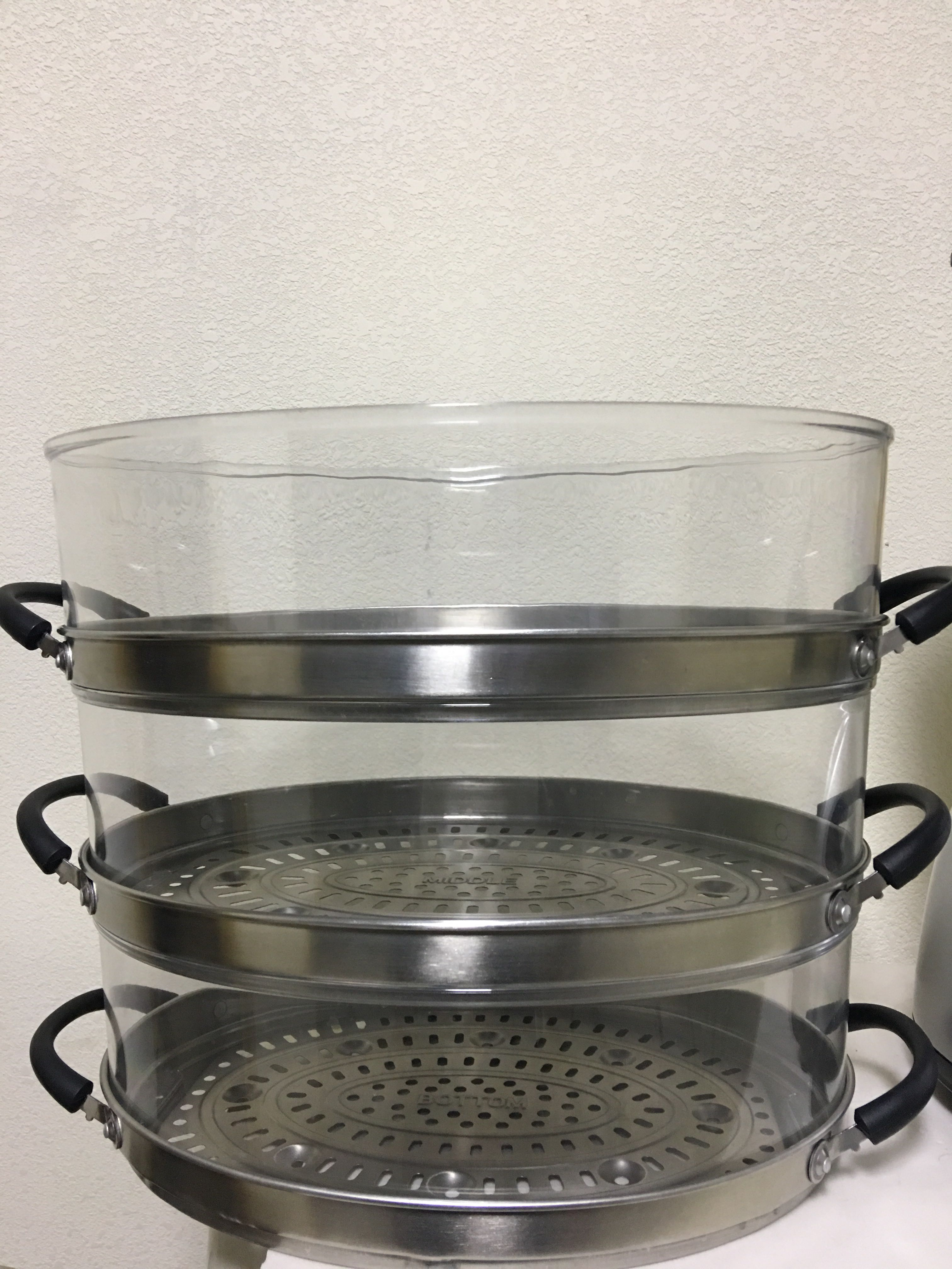 东菱配件电蒸锅电蒸笼XB-1149配件不锈钢蒸屉三层配件