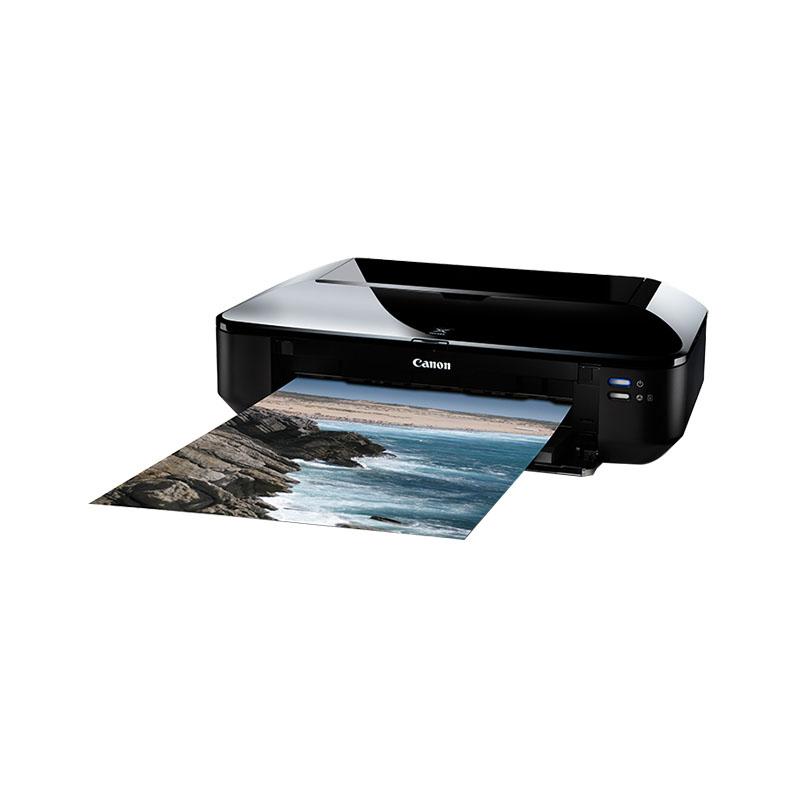 佳能ix6580喷墨彩色照片打印机 连供高速宽幅CAD图纸设计A3打印机