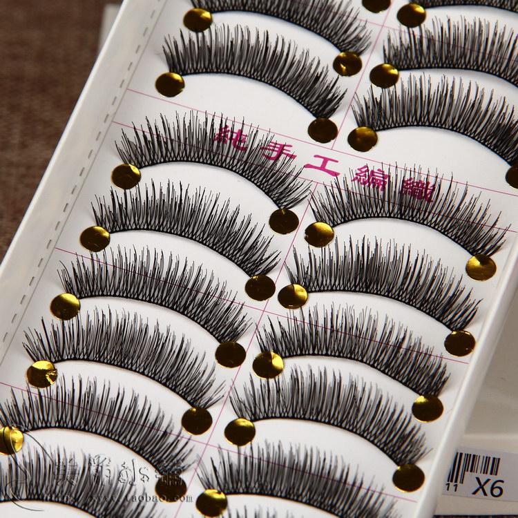 台湾纯手工自然裸妆浓密款假睫毛满8.80元可用5元优惠券