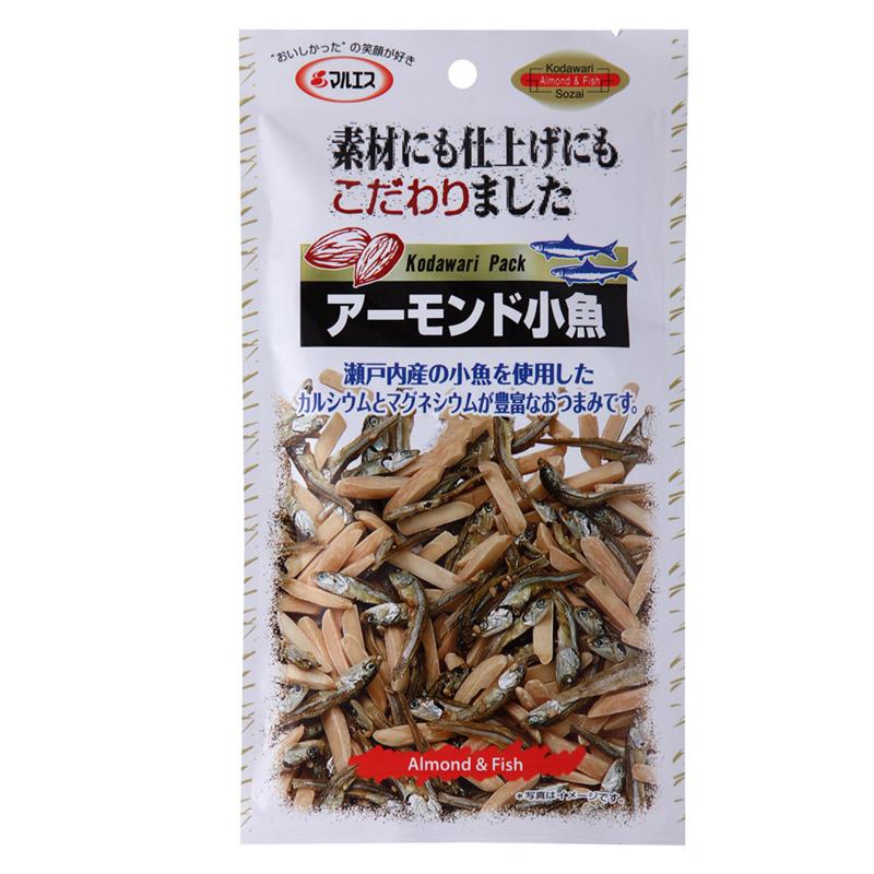 ~天貓超市~MARUESU 馬魯斯堅果小魚幹 33g 包  零食