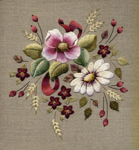 Шелковая вышивка Артикул 43243425179