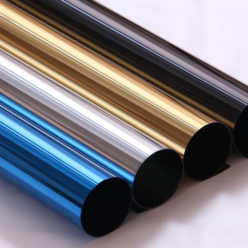 單向反光玻璃貼膜家用窗膜太陽膜陽台遮光防曬隔熱膜遮陽窗戶貼紙