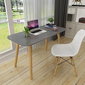 北欧书桌烤漆现代简约办公桌写字台式桌创意学习桌个性家用电脑桌