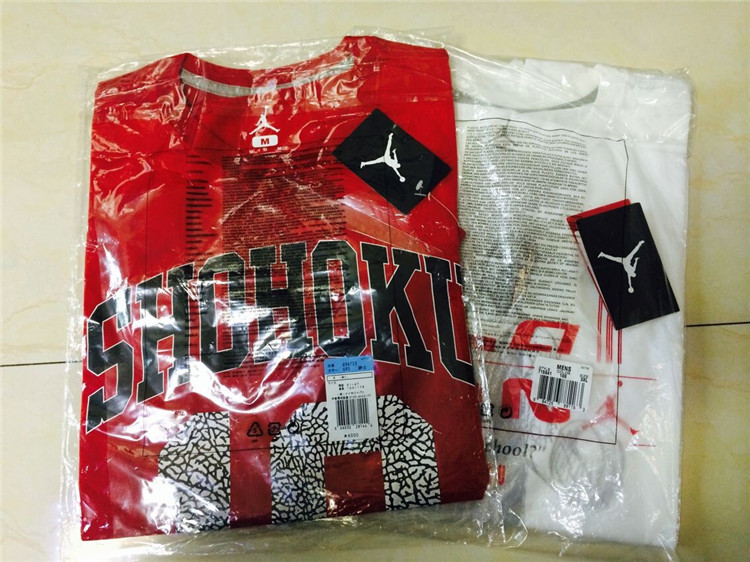 buy popular e4357 84116 AIR JORDAN 6 slam dunk tee AJ6 Slam Dunk Sakuragi T-shirt 715941-100