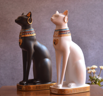 Nile River ancient Egypt Queen cat ornaments of God creative European household decoration crafts wedding room living room
